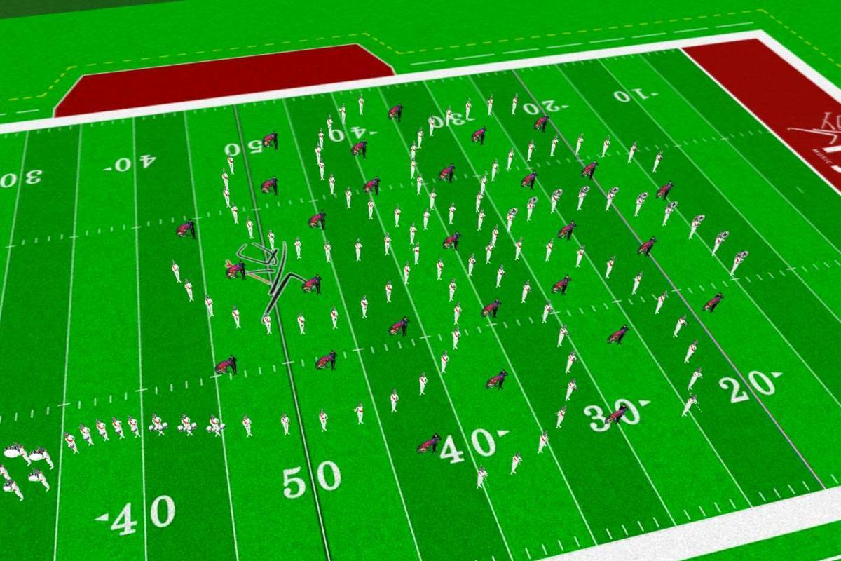 Custom Marching Band Drill Design | Marching Drill By Robert