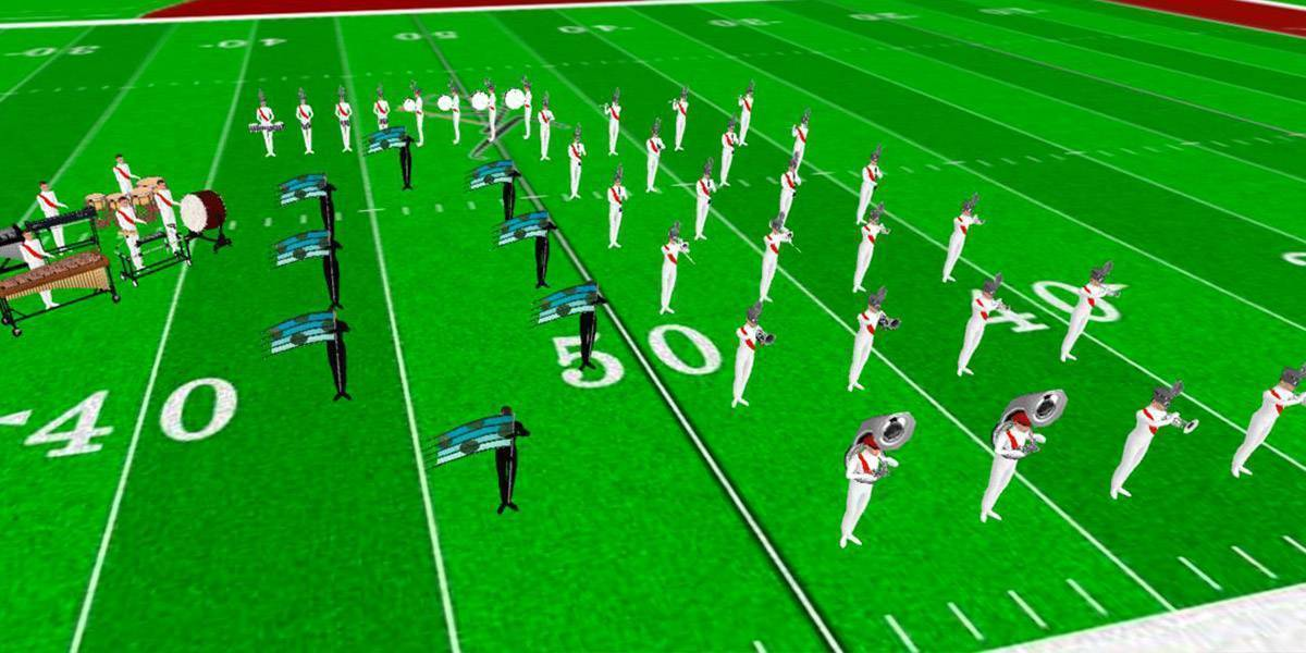 Marching Band Shows For Small Bands | Custom Drill By Robert