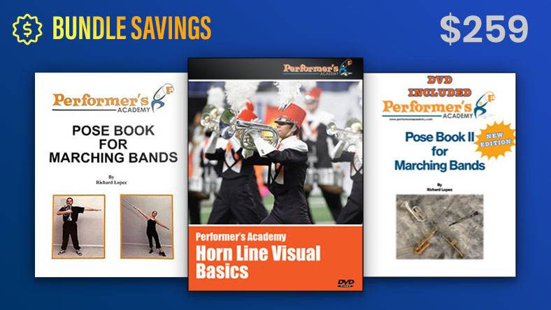 Visual Basics DVD and Pose Books 1 & 2 Bundle Pricing